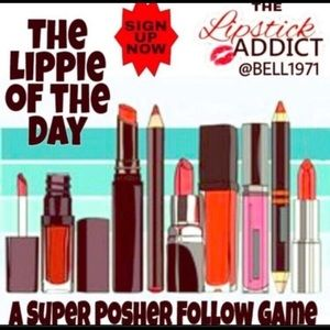 Need more followers? Be a LIPPIE POSHER 💄💋💄